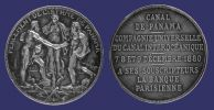 Roty, Panama Canal Subscriber_s Medal, 1880-combo.jpg